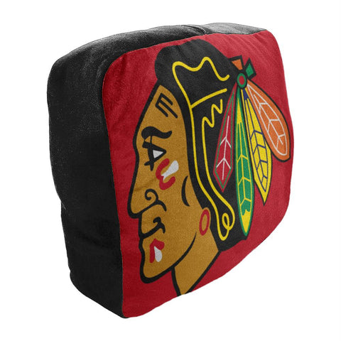 Chicago Blackhawks Nhl 15in Cloud Travel Pillow