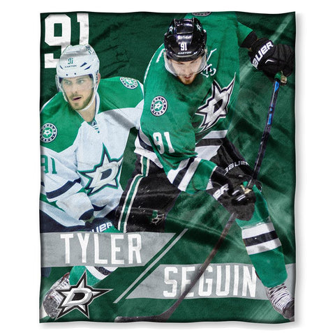 Dallas Stars Nhl Tyler Seguin Silk Touch Throw (50in X 60in)