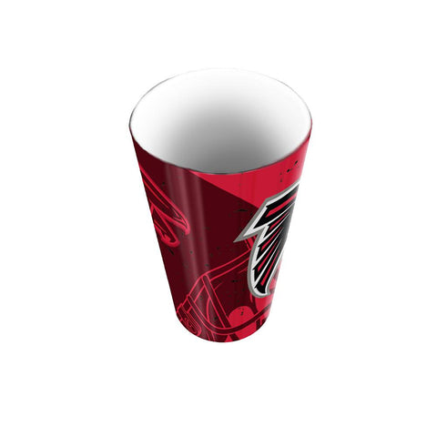 Atlanta Falcons Nfl Polymer Bathroom Tumbler (scatter Series)