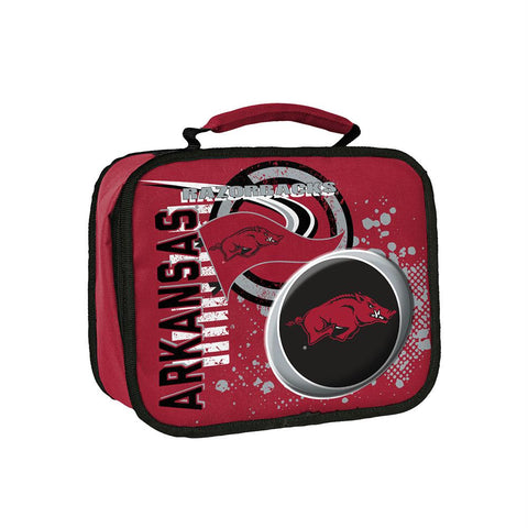 Arkansas Razorbacks Ncaa Accelerator Lunch Cooler (red)