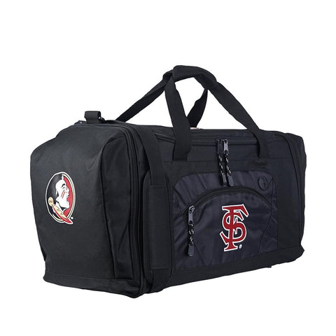 Florida State Seminoles Ncaa Roadblock Duffel Bag (black-black)
