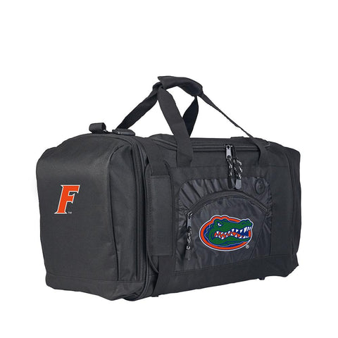 Florida Gators Ncaa Roadblock Duffel Bag (black-black)