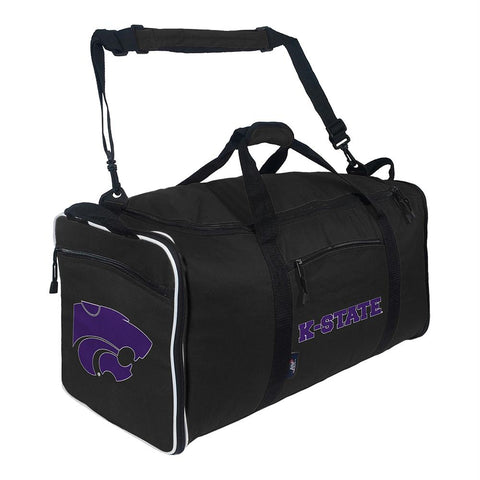 Kansas State Wildcats Ncaa Steal Duffel (black)