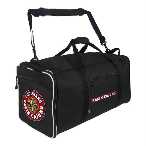 Louisiana Lafayette Ragin Cajuns Ncaa Steal Duffel (black)
