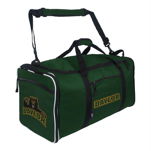 Baylor Bears Ncaa Steal Duffel (green)