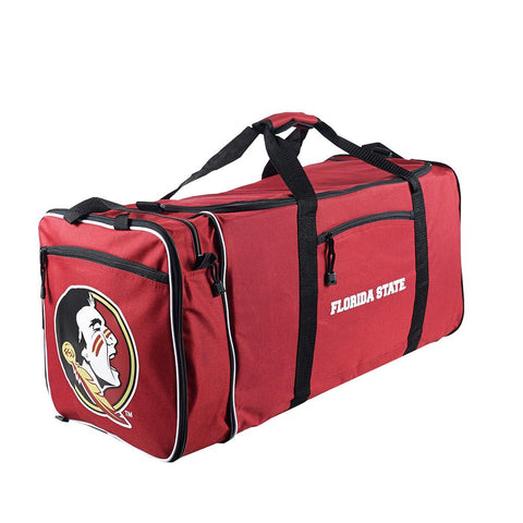 Florida State Seminoles Ncaa Steal Duffel Bag (red)