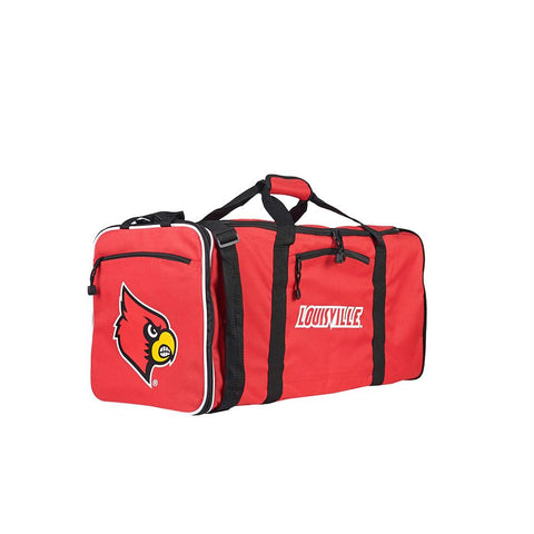 Louisville Cardinals Ncaa Steal Duffel (red)