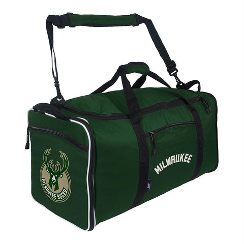 Milwaukee Bucks Nba Steal Duffel (green)