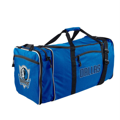Dallas Mavericks Nba Steal Duffel (blue)