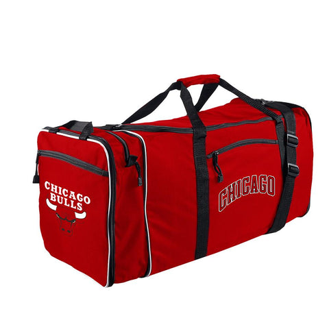 Chicago Bulls Nba Steal Duffel Bag (red)