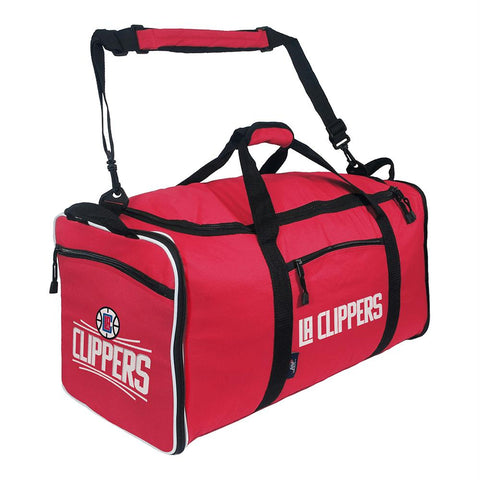 Los Angeles Clippers Nba Steal Duffel (red)