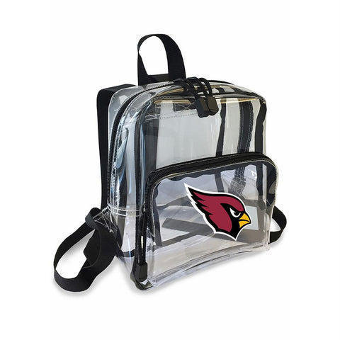 Arizona Cardinals Nfl X-ray Stadium Friendly Clear Mini-backpack