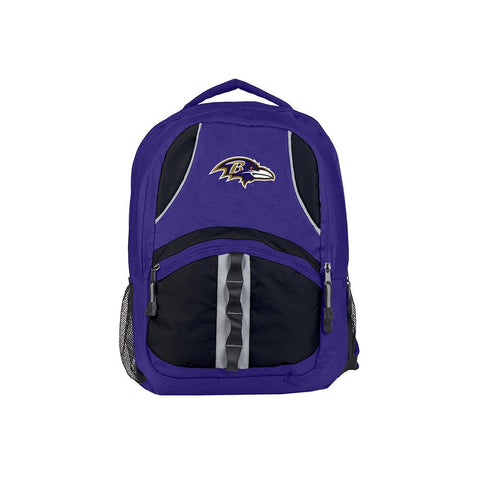 Baltimore Ravens Nfl Captain Backpack (purple-black)