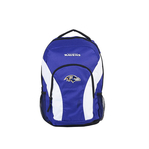 Baltimore Ravens Nfl Draft Day Backpack (purple-white)