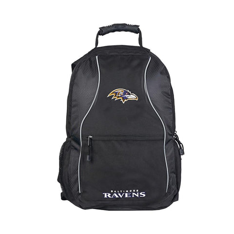 Baltimore Ravens Nfl Phenom Backpack (black-black)