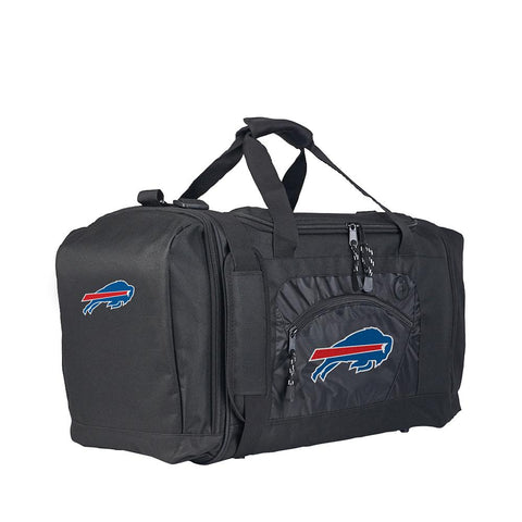 Buffalo Bills Nfl Roadblock Duffel Bag (black-black)