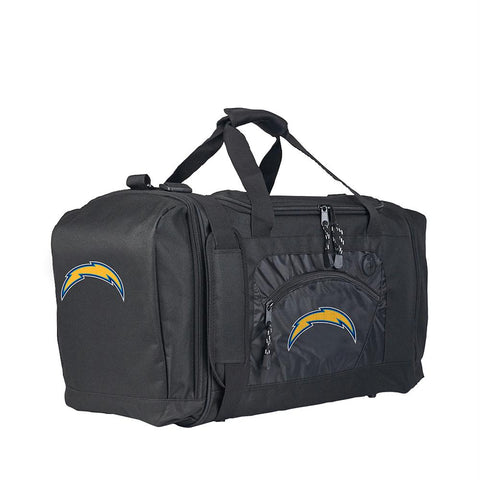 Los Angles Chargers Nfl Roadblock Duffel (black-black)