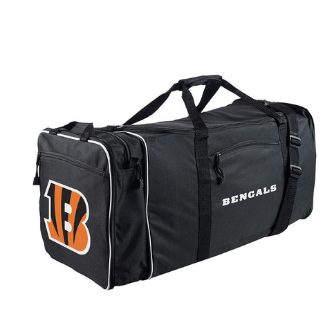Cincinnati Bengals Nfl Steal Duffel Bag (black)