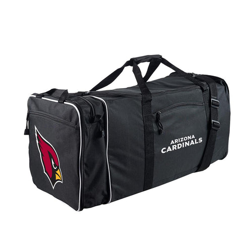 Arizona Cardinals Nfl Steal Duffel Bag (black)