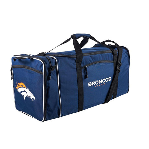 Denver Broncos Nfl Steal Duffel Bag (navy)