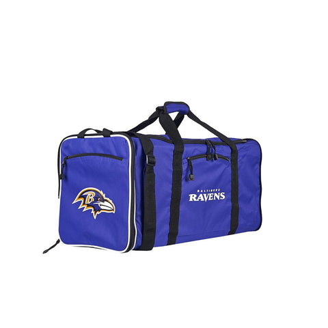Baltimore Ravens Nfl Steal Duffel Bag (purple)