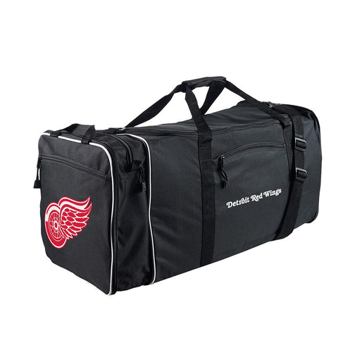 Detroit Red Wings Nhl Steal Duffel Bag (black)