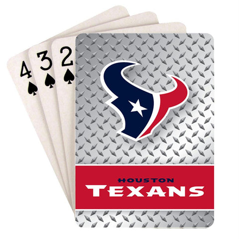 Houston Texans Nfl Playing Cards Diamond Design