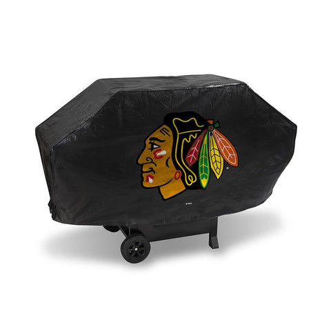 Chicago Blackhawks Nhl Deluxe Barbeque Grill Cover
