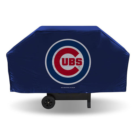 Chicago Cubs Mlb Economy Barbeque Grill Cover