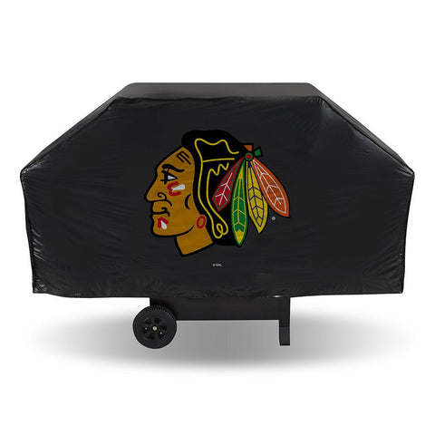 Chicago Blackhawks Nhl Economy Barbeque Grill Cover