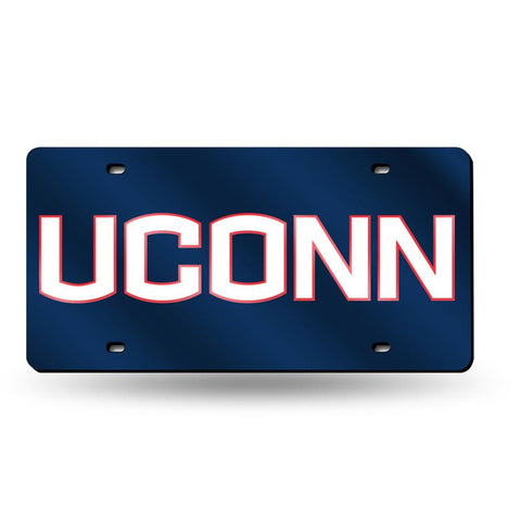 Connecticut Huskies Ncaa Laser Cut License Plate Tag