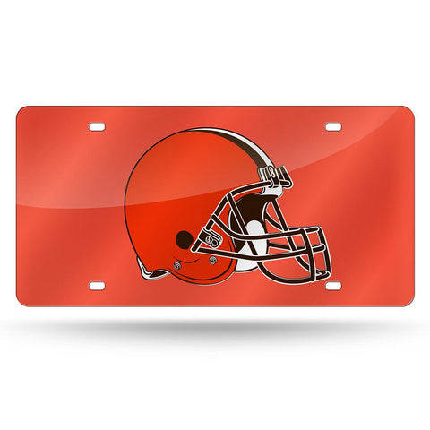 Cleveland Browns Nfl Laser Cut License Plate Tag