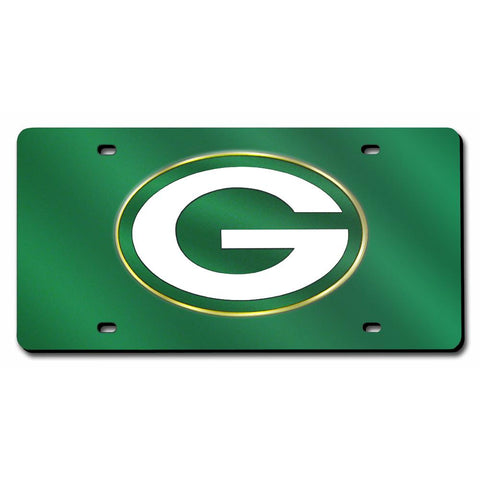 Green Bay Packers Nfl Laser Cut License Plate Cover