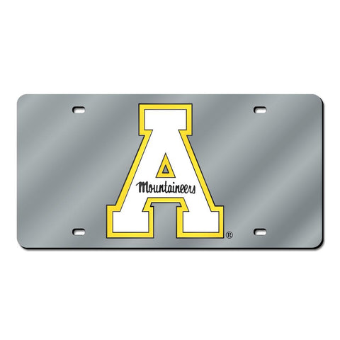 Appalachian State Mountaineers Ncaa Laser Cut License Plate Tag