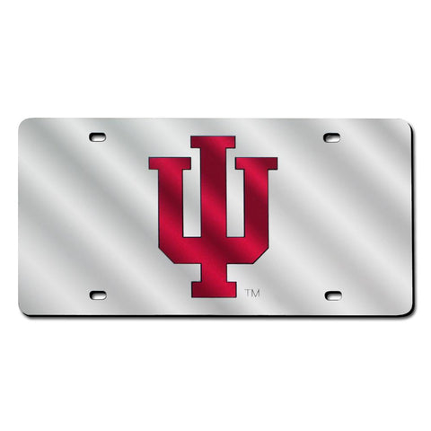 Indiana Hoosiers Ncaa Laser Cut License Plate Tag