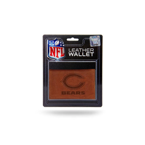 Chicago Bears Nfl Manmade Leather Tri-fold