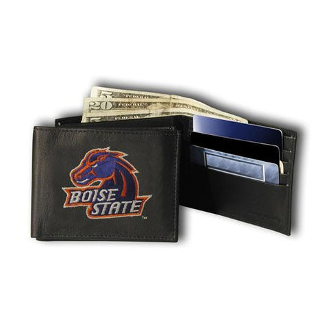 Boise State Broncos Ncaa Embroidered Billfold Wallet
