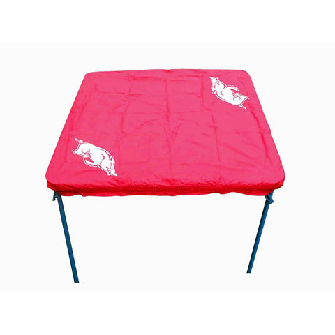Arkansas Razorbacks Ncaa Ultimate Card Table Cover
