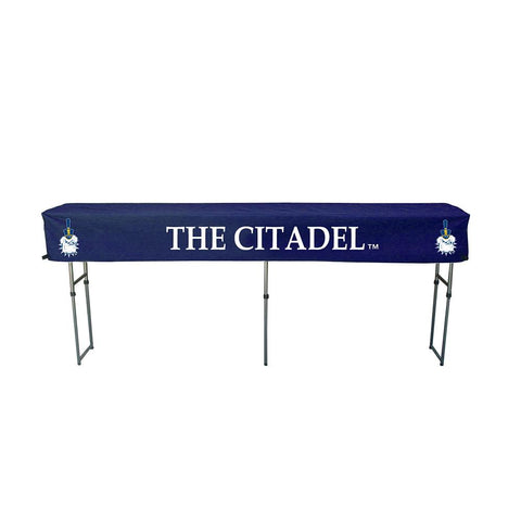 Citadel Bulldogs Ncaa Ultimate Buffet-gathering Table Cover