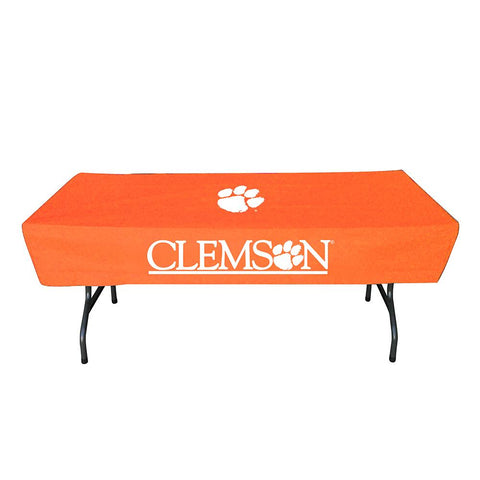 Clemson Tigers Ncaa Ultimate 6 Foot Table Cover