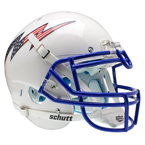 Air Force Falcons Ncaa Authentic Air Xp Full Size Helmet (alternate White 2)