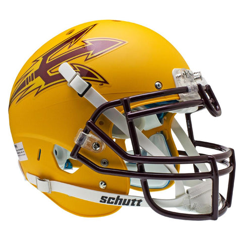 Arizona State Sun Devils Ncaa Authentic Air Xp Full Size Helmet (alternate Gold 1)