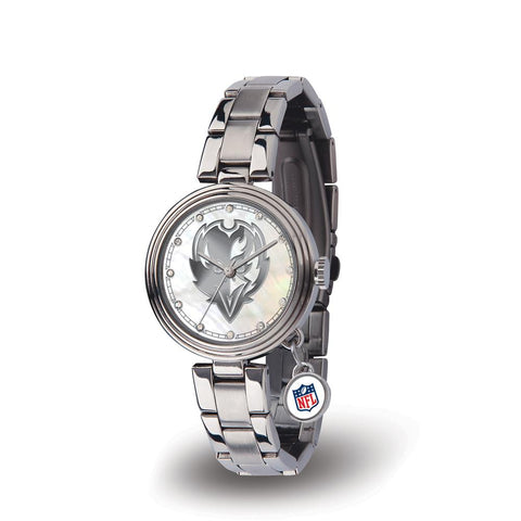 Baltimore Ravens Nfl Charm Series Women's Watch