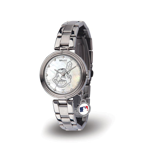 Cleveland Indians Mlb Charm Series Women's Watch