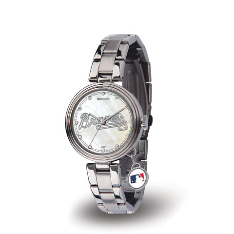 Atlanta Braves Mlb Charm Series Women's Watch