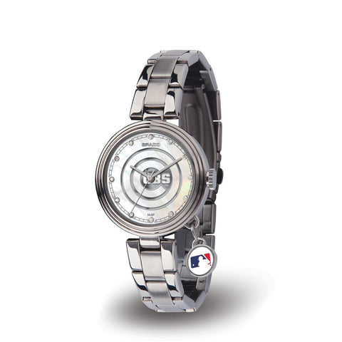 Chicago Cubs Mlb Charm Series Women's Watch