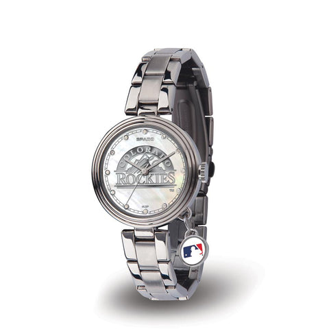 Colorado Rockies Mlb Charm Series Women's Watch