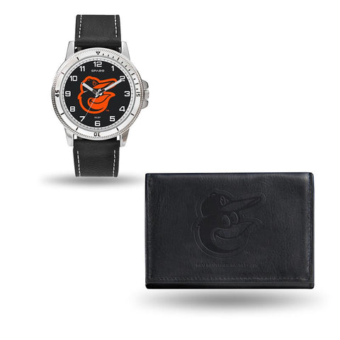 Baltimore Orioles Mlb Watch And Wallet Set (chicago Watch)