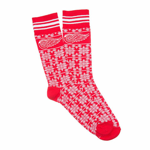 Detroit Red Wings Nhl Stylish Team Sock (1 Pair) (s-m)
