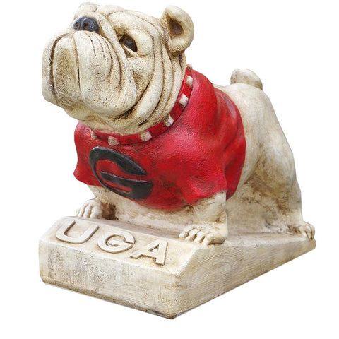 Georgia Bulldogs Ncaa Bulldog College Mascot 14in Full Color Statue